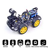 XiaoR Geek DS WiFi Smart Robot Car Kit for Arduino UNO R3,Remote Control HD Camera FPV Robotics Learning & Educational Electronic Toy Reviews
