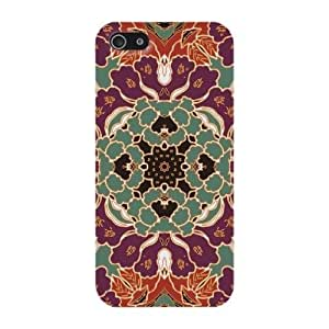 Colorful Retrol Moroccan Pattern Hard Case Cover iPhone 5S / 5 by ruishername