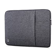 "CAISON Laptop Sleeve Case Water-Resistant Protective Pouch Bag For 2017 New 12"" MacBook / 10"" Lenovo Yoga Book Convertible Laptop / 10.1"" ASUS Transformer Mini T102 Chromebook Flip C100PA"