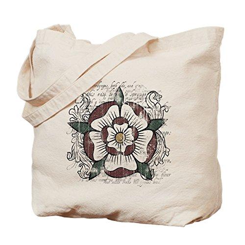 CafePress–tudorroselight–Gamuza de bolsa de lona bolsa, bolsa de la compra Small caqui