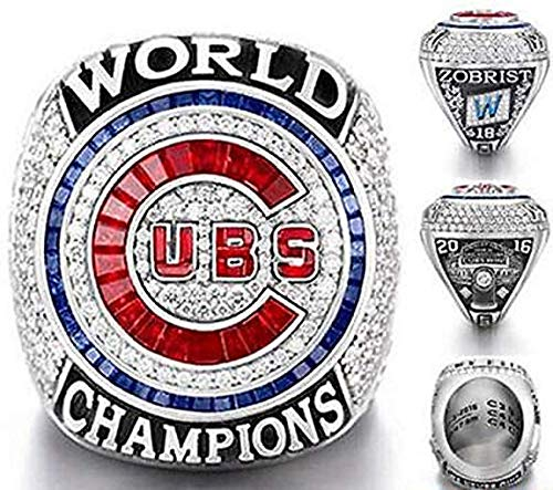 2016 CHICAGO CUBS WORLD SERIES RING REPLICA (ENGRAVED) SIZE 11