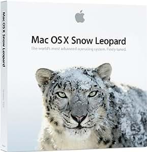 Apple Mac OS X 10.6.3 Snow Leopard, Upg, EN - Sistemas operativos (Upg, EN Mac OS X, Actualizasr, 1 usuario(s), 5 GB, 1 GB, ENG, DVD)