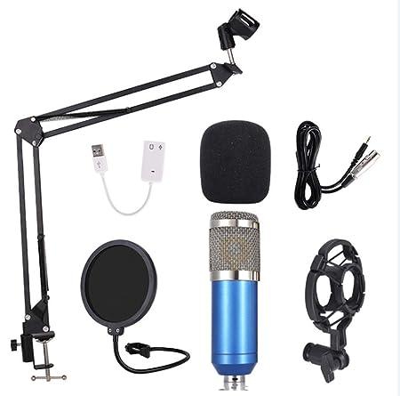 BM-800 Tarjeta De Sonido Externa Computadora Micrófono De ...