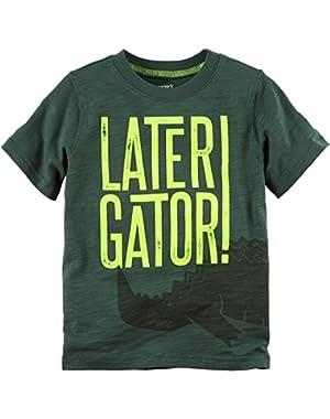 Carter's Baby Boys' Later Gator Tee