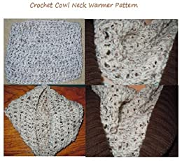 Amazoncom Crochet A Cowl Neck Warmer Pattern Chunky Cowl Neck