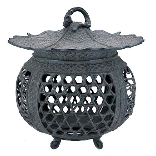 竹中銅器 庭置物 蛇籠燈籠 小 52-04 B00E9SL68O