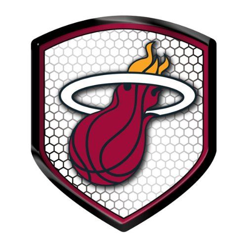 Hall Of Fame Emblem - Miami Heat Shield Style Reflector