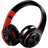 Bluetooth Headphones Over Ear, Nakeey Noise Cancelling Stereo Wireless Headset,Bluetooth 4.1 Wireless Headphone Headset with Microphone for PC/Cell Phones/TV