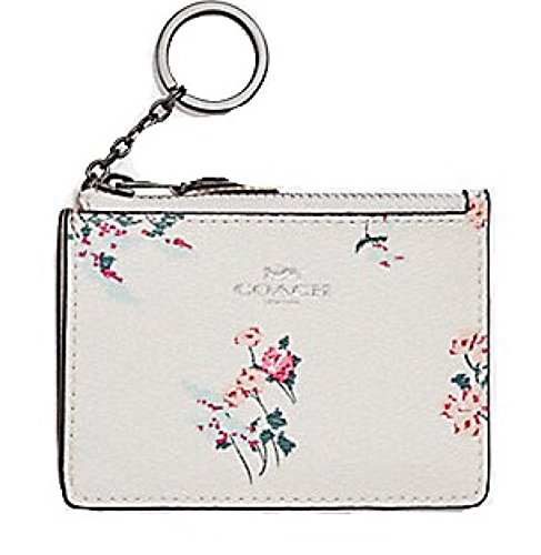 COACH Mini Skinny ID Case in Floral Print Coated Canvas . Style F26218 by COACH