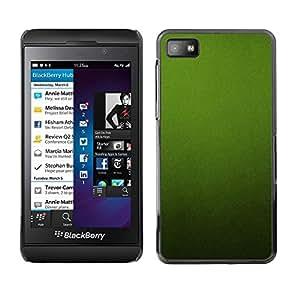 Be Good Phone Accessory // Dura Cáscara cubierta Protectora Caso Carcasa Funda de Protección para Blackberry Z10 // Soothing Calm Monotone Texture