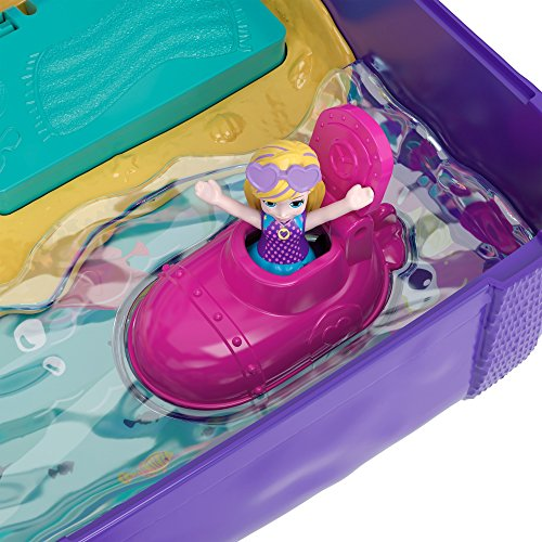 Polly Pocket Beach Vibes Figure, Multicolor by Polly Pocket (Image #3)