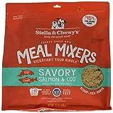 Stella & Chewy's Freeze-Dried Raw Savory Salmon & Cod Meal Mixers Grain-Free Dog