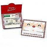 Jolly Santa - Christmas Money and Gift Card Holders - Set of 8