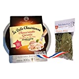 french sauerkraut cooked in riesling 300 gr 1 serve-choucroute garnie cuisinée au riesling 1 pers LA BELLE CHAURIENNE + 1 bag of bouquet garni Théodore Bardin-Cuinet