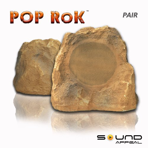 Sound Appeal SA-POP8-CN POP RoK 8.0-Inch Rock Canyon Sandstone Speakers, Pair