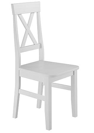 Erst Massivholzstuhl Holz® Stuhl Kiefer Küchenstuhl Esszimmerstuhl CdxoeB