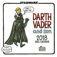 2018 Wall Calendar: Star Wars Darth Vader and Son