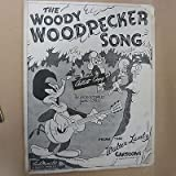 song sheet THE WOODY WOODPECKER SONG 1948