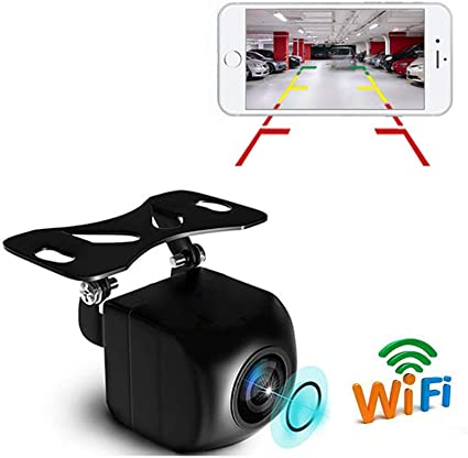 150° WiFi Wireless Car Rear View Cam Backup Reverse Camera For iOS Android USA
