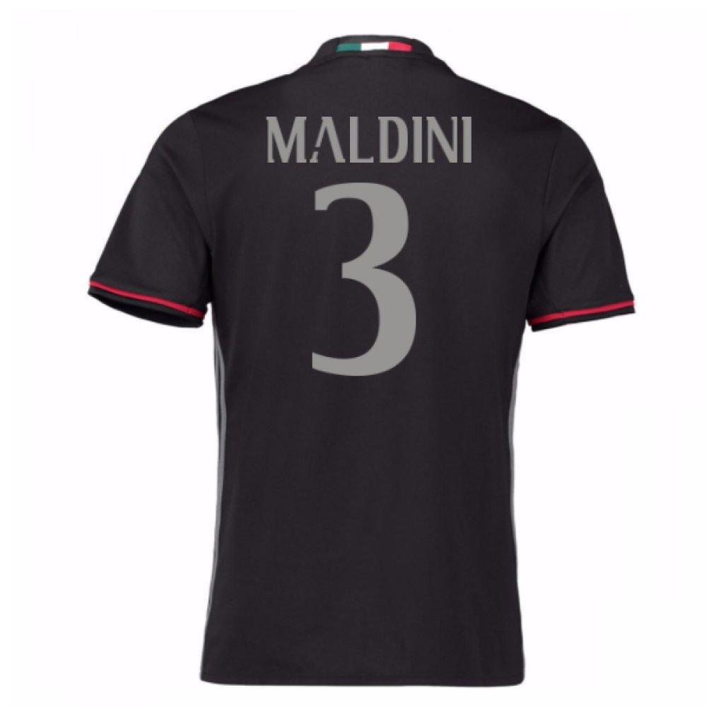 2016 – 17 ACミランホームシャツ( Maldini 3 ) B077Z1NWHHレッド XXL 46-48\