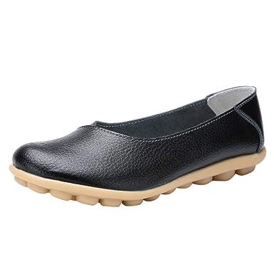67b15763242a1 TOOPOOT Women's Flat Shoes Sandals Solid Color peas Shoes Pregnant Women  Shoes Large Size Mother Shoes