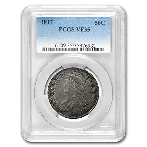 1817 Capped Bust Half Dollar VF-35 PCGS Half Dollar VF-35 PCGS
