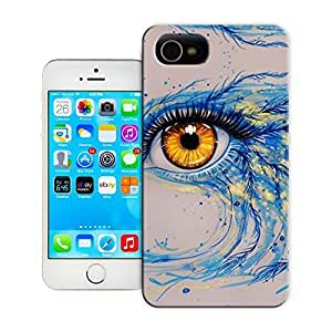 Unique Phone Case Thriller pattern adds bird feathers to this watercolor painting of a golden eye 643x434 Hard Cover for 4.7 inches iPhone 6 cases-buythecase