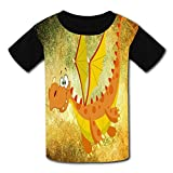 Flying Dinosaurs Child Short Sleeve Fashion T-Shirt Of Boys And Girls M