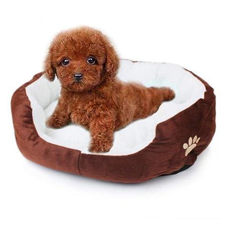 Aikesi Cama para Mascotas Caliente Suave Casa para Mascotas ...