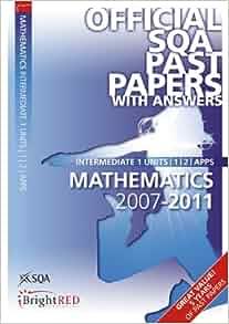 mathematics intermediate 2 past papers