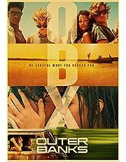 Outer Banks Poster Canvas Schilderij Prints Retro Art Schilderen Thuis Room Cafe Muur Decoratieve Geen Frame 2020 Adventure Tv Serie C197 50X70Cm
