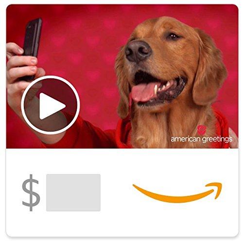 Amazon eGift Card - Valentine Selfie (Animated) [American Greetings]