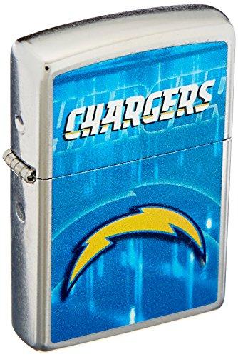 Zippo NFL San Diego Chargers Street Chrome Pocket Lighter (Zippo Nfl San Diego Chargers)