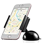 Car Mount Vena DASH55 [One Hand] Universal Dashboard Windshield Phone Holder for iPhone SE 6S 6 Plus 5 Galaxy...