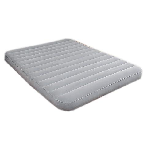 sheng Cama inflable colchones más gruesos portátil cama de acampar al aire libre solo ultra-