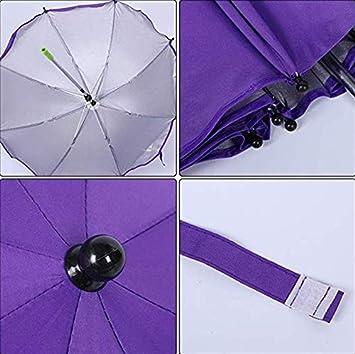 laamei Sombrilla Universal Carrito de Beb/é Paraguas Sombrilla Parasol para Silla de Paseo y Cochecito con UV Protecci/ón 360 Grados de Direcci/ón Ajustable para Protege el Beb/és y Ni/ños