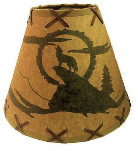 Rustic Lamp Shades inch Coyote product image