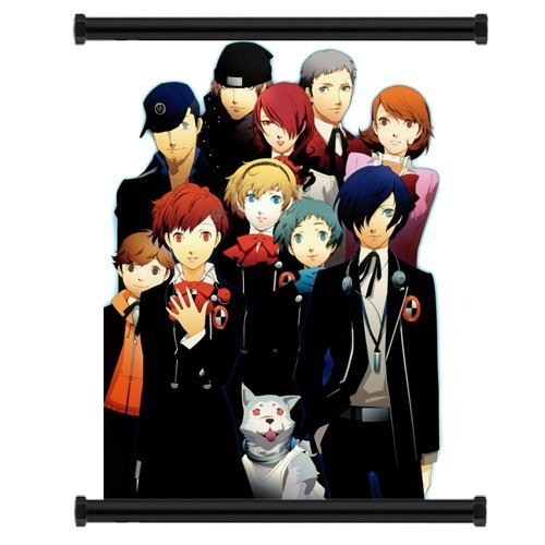 1 X Shin Megami Tensei Persona 3 Game Fabric Wall Scroll Poster (16