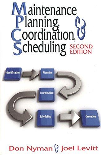 Maintenance Planning, Coordination, & Scheduling