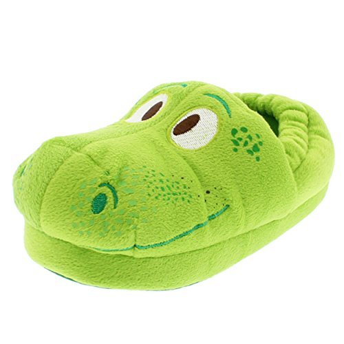 The Good Dinosaur Arlo Kids Aline Slippers (7-8 M US Toddler, Arlo Green)