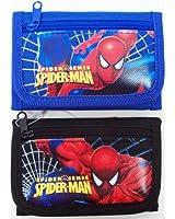 SPIDER MAN 3STEP WALLET -BLACK or BLUE