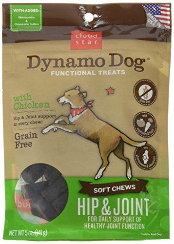 (Cloud Star Dynamo Dog Hip & Joint Soft Chew Treats Chicken Formula - Grain Free - 5 oz)