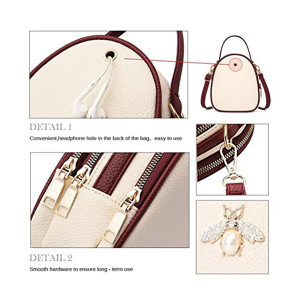 e75a8f3c94 SiMYEER Small Crossbody Bags Shoulder Bag for Women Stylish Ladies  Messenger Bags Purse ...