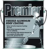 Henry Premier Fibered Aluminum Roof Coating, 1 gal, Liquid, Black, Petroleum, 0.90 SG, 105 deg F Flash Point
