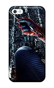 5/5s Scratch-proof Protection Case Cover For Iphone/ Hot The Amazing Spider-man 6 Phone Case(3D PC Soft Case)