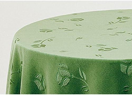 Falda para Mesa Camilla Modelo Deluxe 792, Color Verde 708, Medida Redonda 90/233cm Ø (También Disponible en Distintos Colores, Formas y Medidas): Amazon.es: Hogar