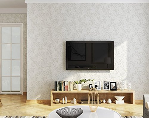 Environmentally friendly non-woven wallpaper classic 3D Stripes AB version of Damascus living room bedroom background wallpaper