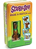 Scooby-Doo Make A Match Card Game Tin and Scooby Figurine