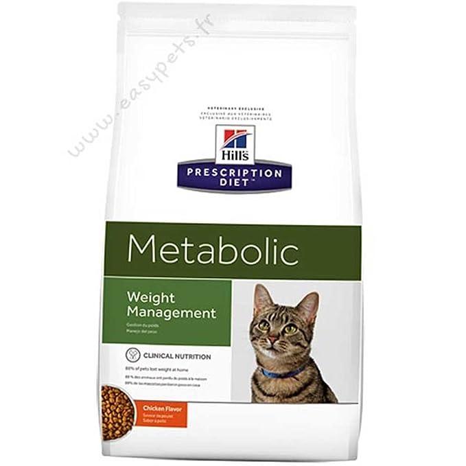 Hill's Prescription Diet Feline Gestion du Poids Nourriture pour Chat Croquettes 8kg Poulet