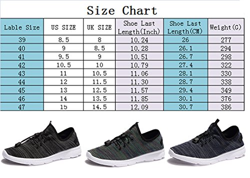 Mens Light Weight Comfortable Breathable Casual Fashion Sneaker Athletic Running Shoes Style B Blue 8IGx7s
